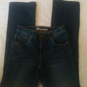 Crazy 8 boot cut girls denim jeans